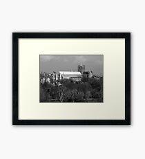 St Albans Cathedral 1 Framed Print