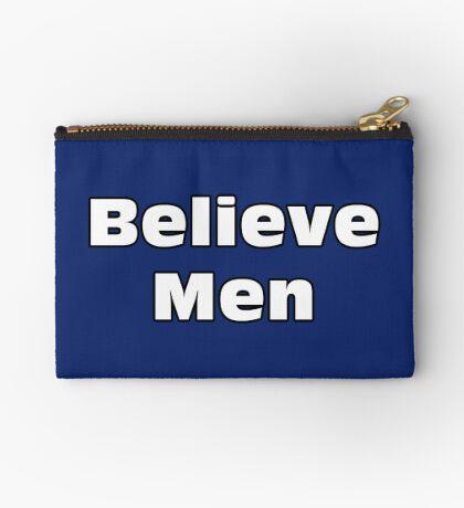 Believe Men Zipper Pouch