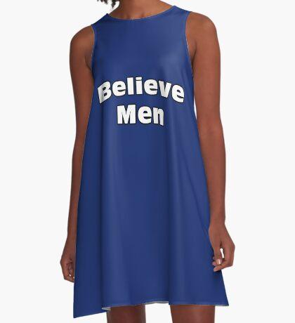 Believe Men A-Line Dress