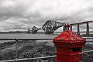 Red Postbox by Martina Fagan