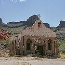 """""""Streets of Laredo"""" Movie Set at Big Bend National Park by Susan Russell"""