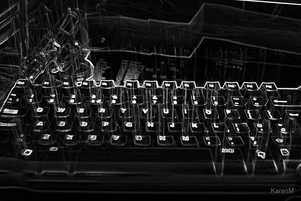 Quirky Keyboard by KarenM