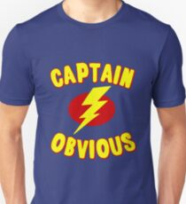 Captain Obvious T Shirt Unisex T-Shirt