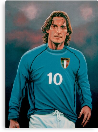 Francesco Totti Italia painting by PaulMeijering