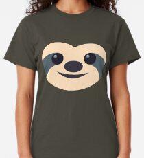 Emoji: Faultier Gesicht Classic T-Shirt
