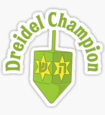 Dreidel Champion Sticker
