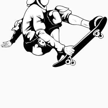 Skateboarder by KimberlyMarie