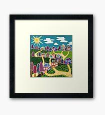 'Community' Framed Print