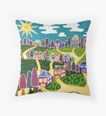 'Community' Throw Pillow
