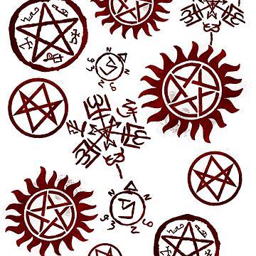 Supernatural Sigils by princedean