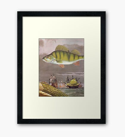 M Blackwell - By Sea or By Air... Framed Print