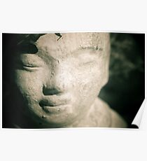 Peaceful Little Buddha Poster