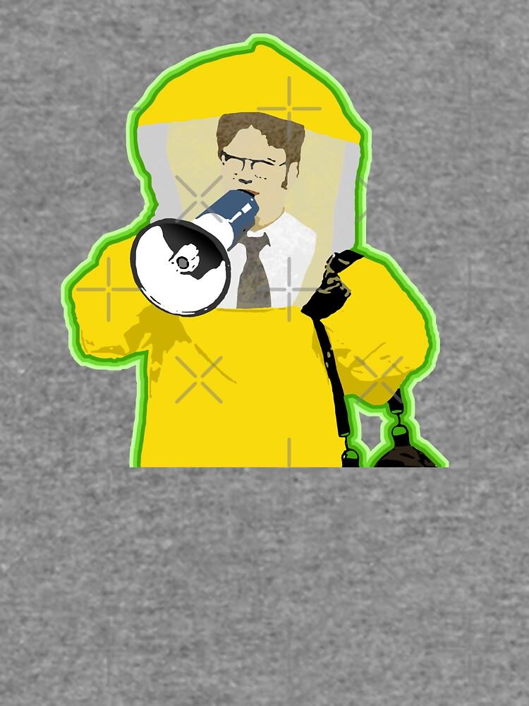 Hazmat Dwight by pickledbeets