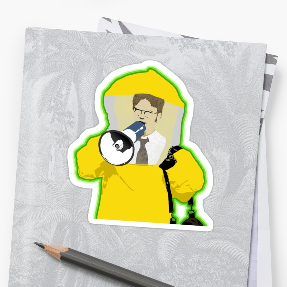 Hazmat Dwight by pickledbeets