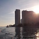 Miami Skyline by nancy dixon
