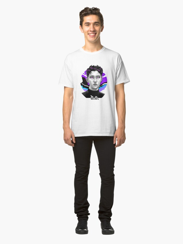 Vista alternativa de Camiseta clásica Kyungsoo electric kiss