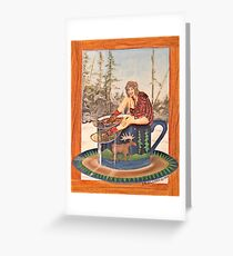 Bean to the Gunflint Greeting Card