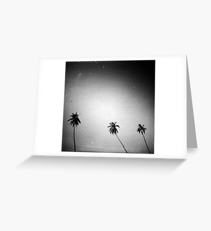 palms, kep, cambodia Greeting Card