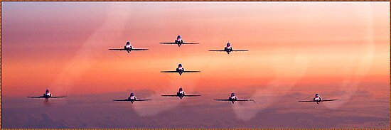 Red Arrows, Comin' at Ya! by Chris Lord