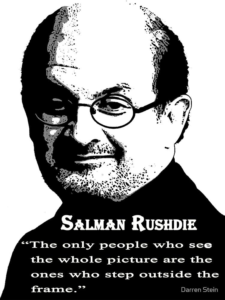 Sir Salman Rushdie by Darren Stein