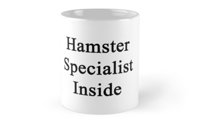 Hamster Specialist Inside  by supernova23