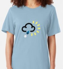 The weather series - Wintery weather Slim Fit T-Shirt
