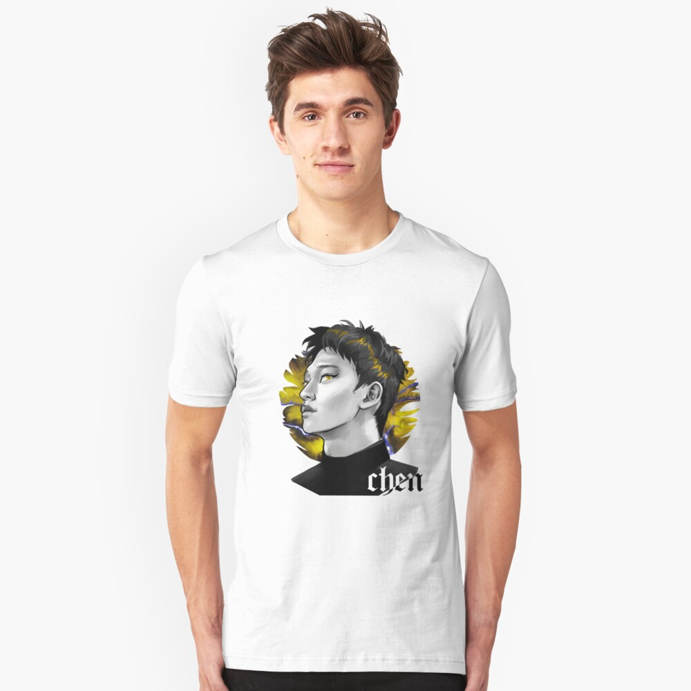 Chen electric kiss  Camiseta ajustada