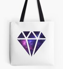 Galaxy Diamond Tote Bag