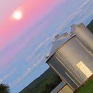 Heavenly Moonrise Hues Askew by M-EK