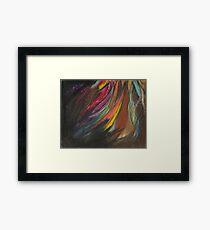 My Soul on Fire Framed Print