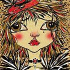 SHOW GIRL by Barbara Cannon  ART.. AKA Barbieville