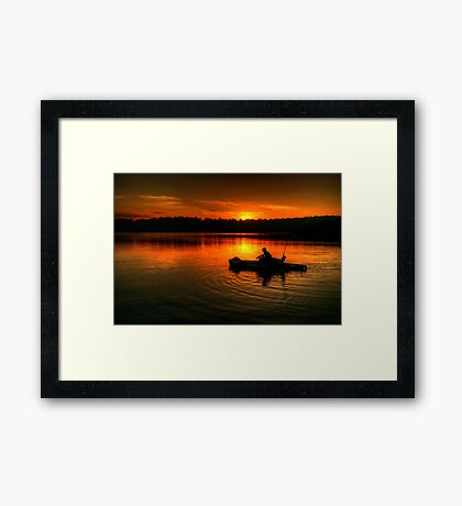 Solitude - Narrabeen Lakes, Sydney - The HDR Experience Framed Print