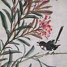 Flower and bird by Thanh Duong