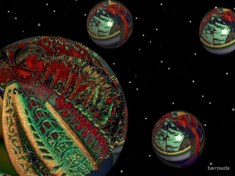 Planet Knobs by barrowda