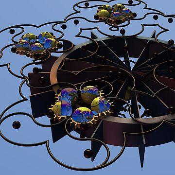 Steampunk Owl Nests by barrowda