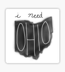 Jacob Whitesides Ohio Drawing Sticker