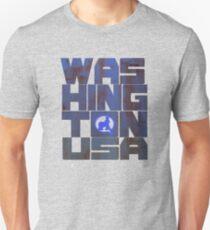 usa washington tshirt by rogers bros T-Shirt