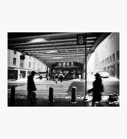 Pershing Square - NYC Photographic Print