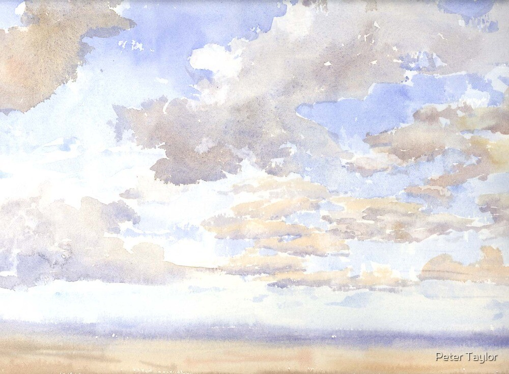 Cloud study by Peter Lusby Taylor