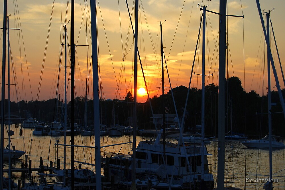 Sunset - Annapolis Maryland by KevinsView