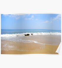 Atlantic Ocean as seen from Rehoboth Beach Delaware Poster