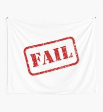 Fail stamp Wall Tapestry