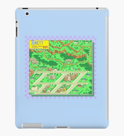 Onett Town Map - Earthbound/Mother 2 iPad Case/Skin