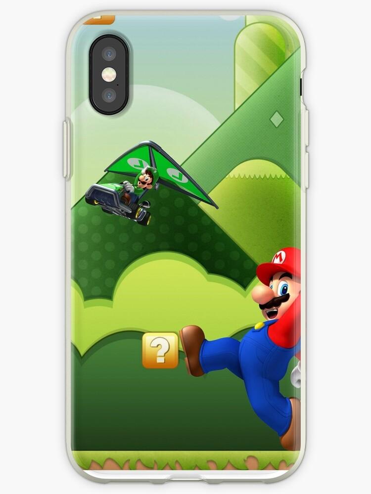Mario and Luigi Phone Case by juanmar123