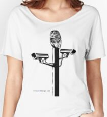 Watch Owl Women's Relaxed Fit T-Shirt