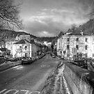 Village of Dunkeld - BW by GerryMac