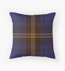 00354 Sligo County District Tartan Throw Pillow