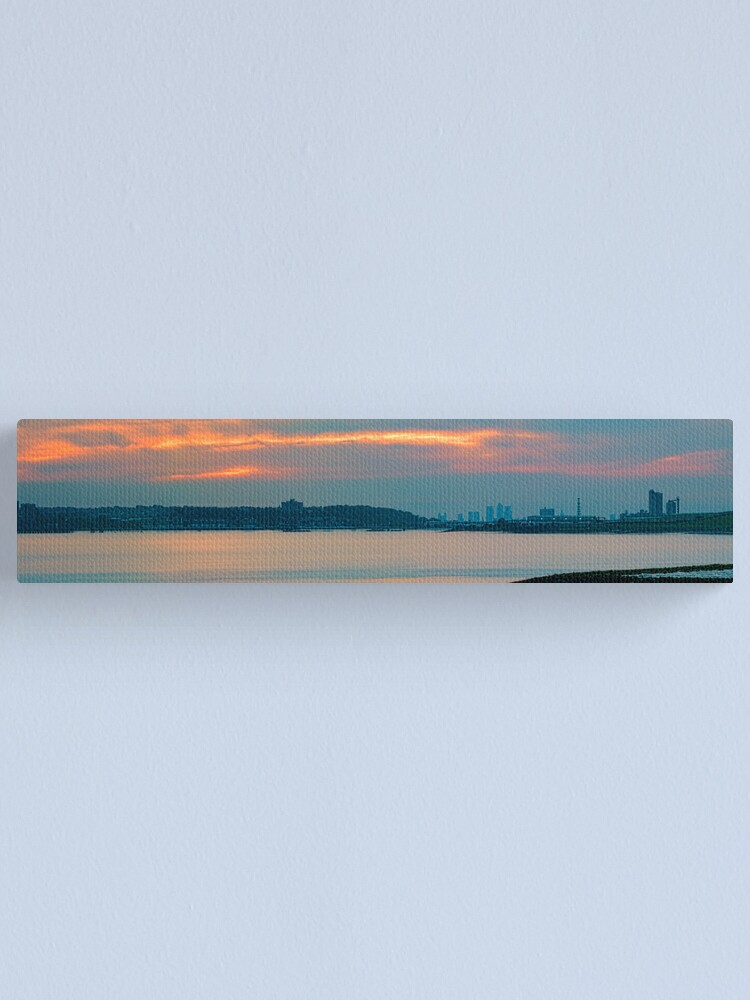 Alternate view of River Thames Panorama Rainham Canvas Print