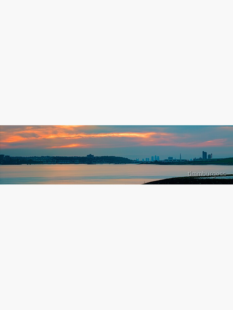 River Thames Panorama Rainham by timmburgess