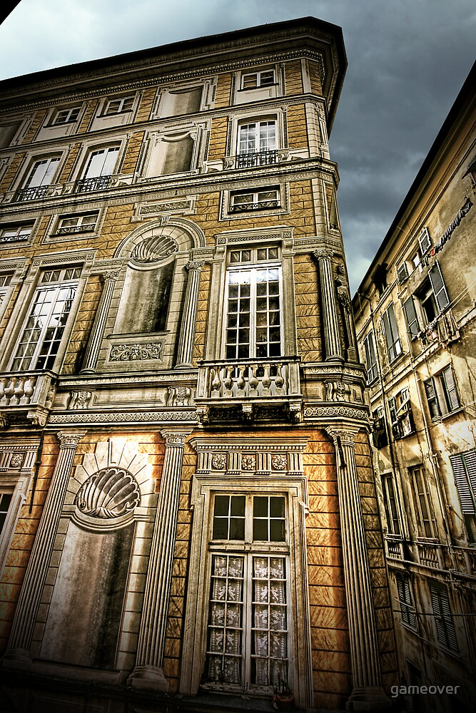 Trompe l'oeil building by gameover